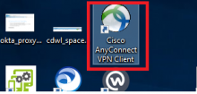 A screenshot of the Cisco_AnyConnect_shortcut